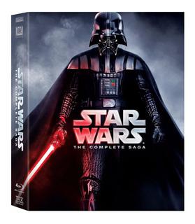 Blu-ray: Star Wars Saga Completa Original