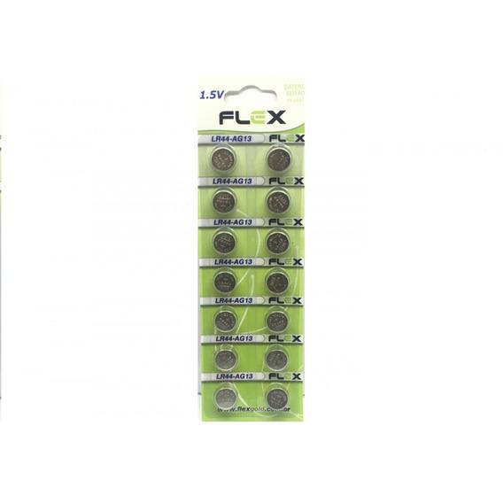 Bateria Moeda Lr54 - Ag13/ Lr44 / A76 / Sr1154 C/ 14 Peças