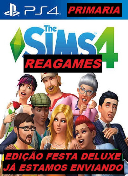 The Sims 4 Deluxe Party Edition Ps4 Original 1º Digital