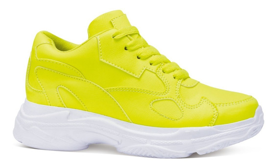Olek Tenis Casuales Plataforma Sneakers Textura Moda 7200411