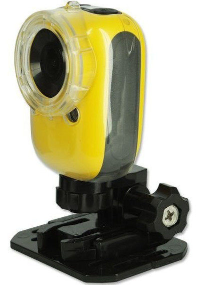 Câmera Filmadora Esportiva Amarela Prova D