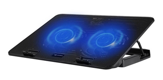 Base P/ Notebook Até 15,6 C/ 2 Coolers 12cm C3tech Nbc-50bk