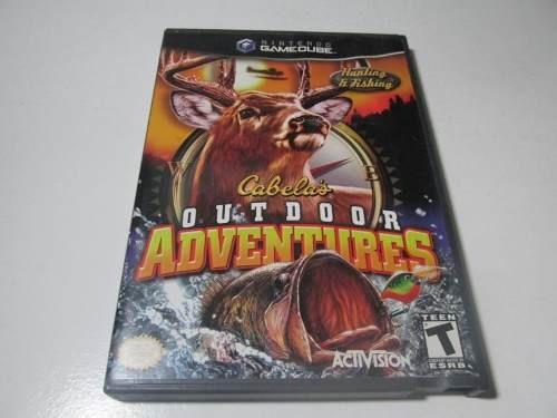 Cabelas Outdoor Adventures Original P/ Game Cube / Wii