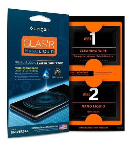 Protector De Pantalla Spigen Glas.tr Nano Liquid Americano