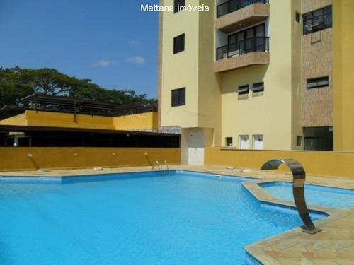 Imagem 1 de 30 de Apartamento Beira Rio Em Jacareí-sp - Apv168 - 4788039