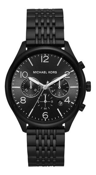 Relógio Michael Kors Feminino Merrick Preto Mk8640/1pn