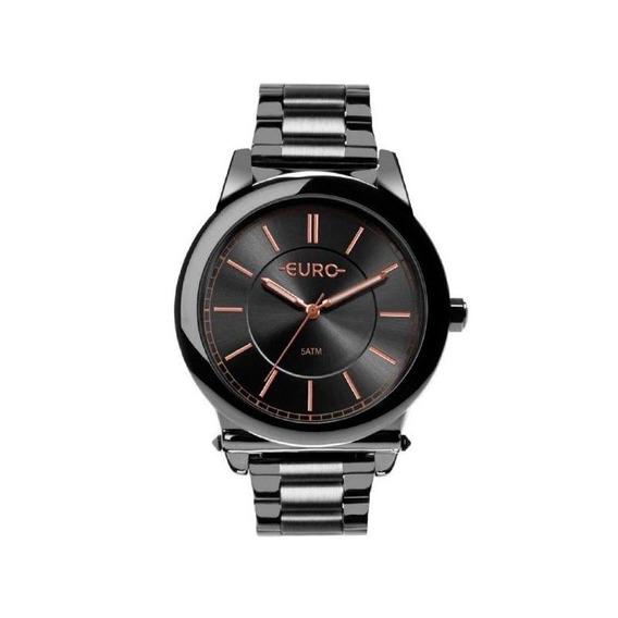 Relógio Euro Feminino Chumbo Eu 2036yms/4c