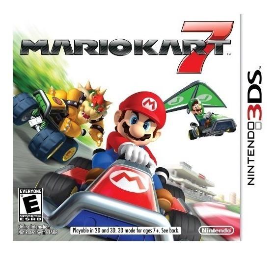 Mario Kart 7 3ds Mídia Física Original Usa