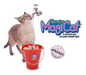 Bebedouro Torneira Gato Magicat 110v E Suporte - Catmypet