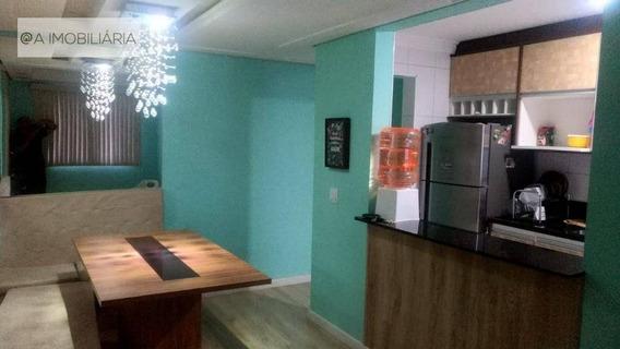 Apartamento Mobiliado À Venda Ou Locação, 50 M² - Taboão - São Bernardo Do Campo/sp - Ap0570