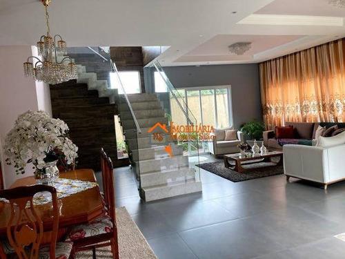 Sobrado Com 3 Dormitórios À Venda, 309 M² Por R$ 745.000,00 - Parque Uirapuru - Guarulhos/sp - So0715