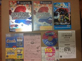Pokemon Box Ruby&sapphire Game Cube Nintendo
