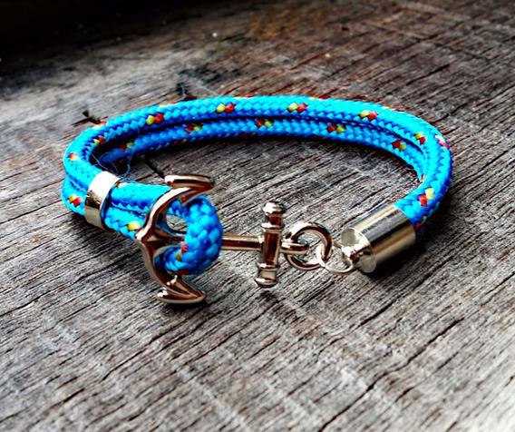 Pulseira Náutica Azul Ny