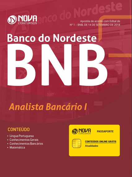 Apostila Digital Concurso Banco Do Nordeste.