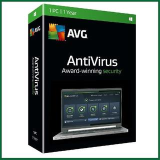 Antivirus Avg 2020 - 1 - 2019 Pc - 1 Año