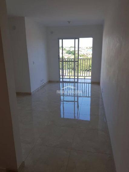Apartamento Com 2 Dormitórios Para Alugar, 55 M² Por R$ 700/mês - Jardim Residencial Das Palmeiras - Rio Claro/sp - Ap0435