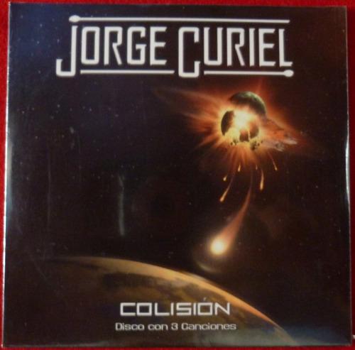 Imagen 1 de 3 de Jorge Curiel - Colisión - Promocional