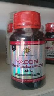 Yacon (extracto Seco) + Zinc Reino : Controlar La Insulina!!