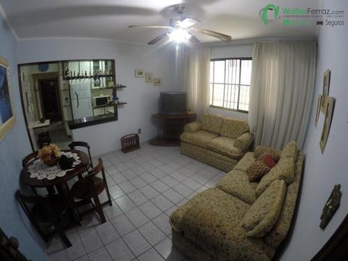 Apartamento De 02 Dormitórios No Coração Da Guilhermina, Em Praia Grande. - 2504
