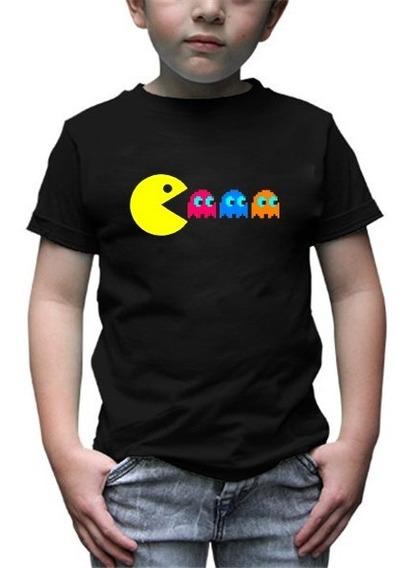 Playera Infantil Pacman Mod1
