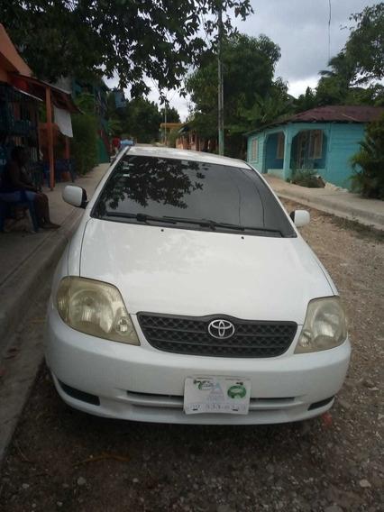 Toyota Corolla Assista 2003 Como Nuevo