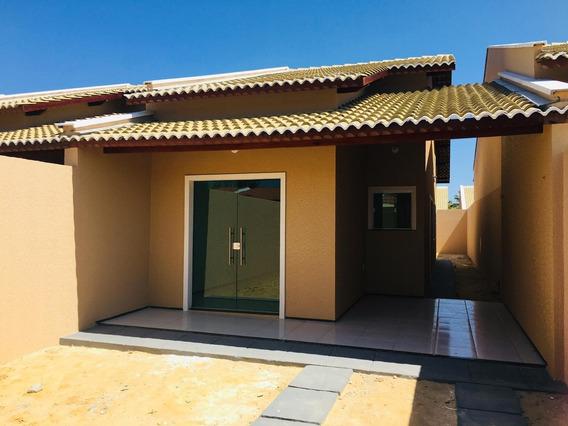 Casa Em Centro, Aquiraz/ce De 80m² 1 Quartos À Venda Por R$ 158.000,00 - Ca301833