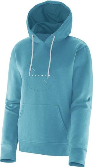 Blusa Salomon Feminina - Logo Hoodie