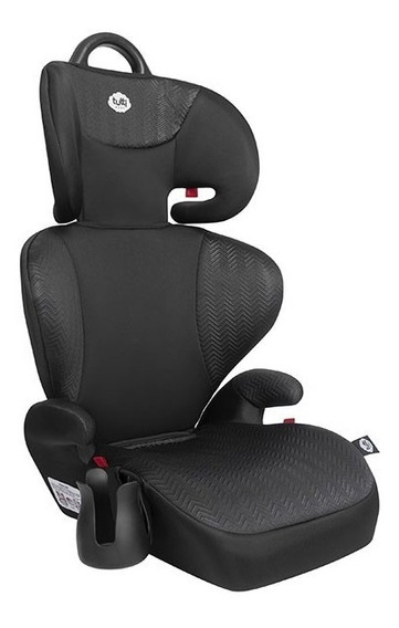 Cadeira Triton Black Assento Booster Encosto Tutti Baby