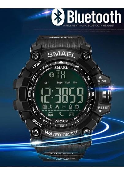 Relógio Smael Digital Bluetooth + Brinde