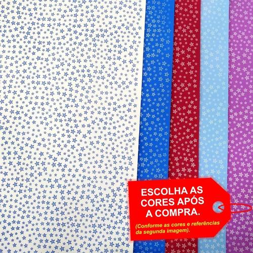 Folha De Eva Estampado Estrela 40x60cm - 5 Unidades