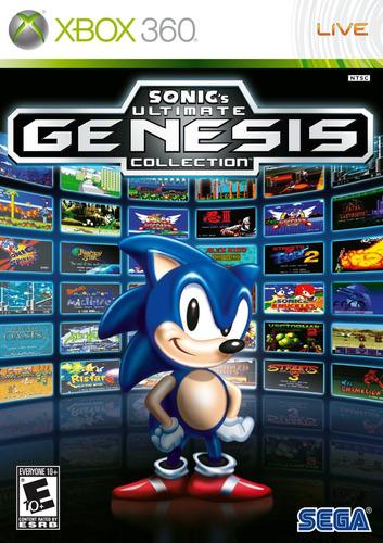 Sonic Ultimate Genesis Collection Xbox 360 Mídia Físca Novo