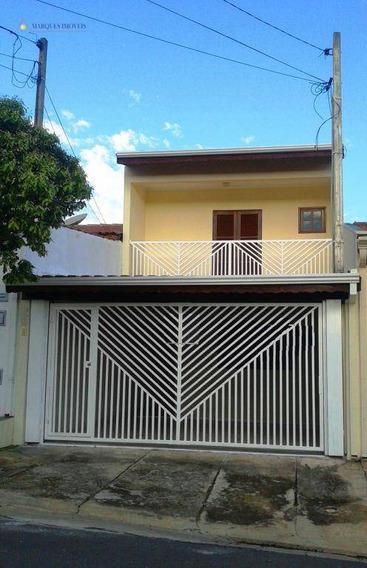 Sobrado Residencial À Venda, Jardim Primavera, Indaiatuba. - So2498