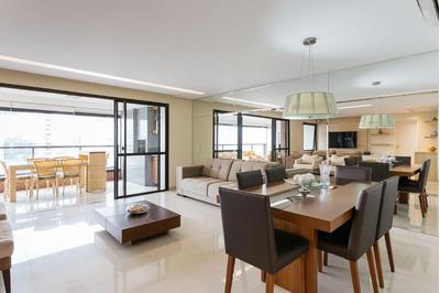 Apartamento Mobiliado Com 3 Suítes À Venda, 168 M² Por R$ 1.685.000 - Granja Julieta - São Paulo/sp - Ap24636