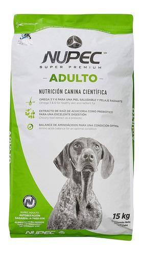Croqueta Alimento Para Perro Super Premium Adulto 15kg Nupec