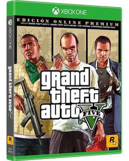 Gta V Premium Edition Xbox One - S001