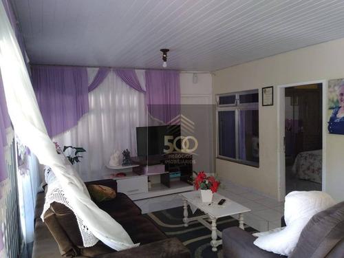 Casa Com 3 Dormitórios À Venda, 160 M² Por R$ 400.000,00 - Sertão Do Maruim - São José/sc - Ca0547