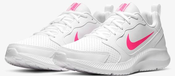Zapatos Nike Blancos Mujer Talla 6 1/2 O 37.5