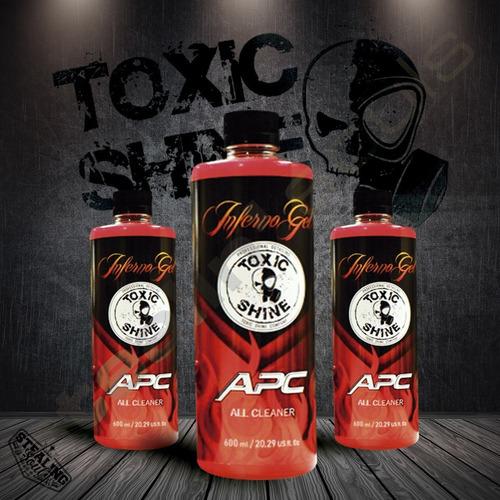 Imagen 1 de 7 de Toxic Shine   Inferno Gel   Apc   600cc
