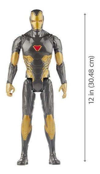 Avengers 30cm Homem De Ferro Black Gold - Hasbro E7878