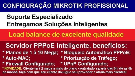 Configuração Mikrotik Load Balance Ou Servidor Pppoe 750