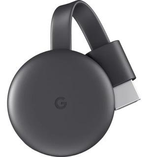 Google Chromecast 3 Smarttv Caja Sellada Con Cargador Pccore