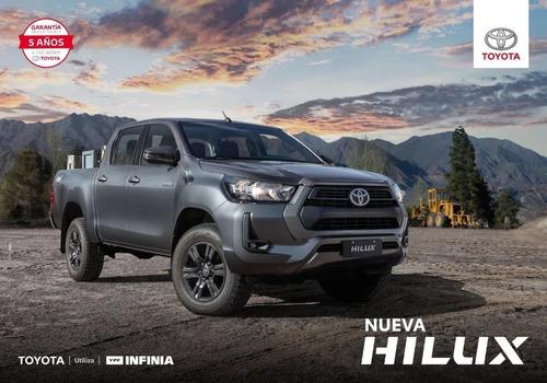 Imagen 1 de 7 de Toyota Hilux 4x4 C/d Dx