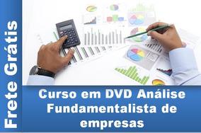 Curso Em Dvd Análise Fundamentalista De Empresas