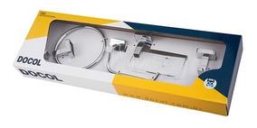 00765606 Docol Kit 5 Pçs Acessorios Para Banheiro Trip