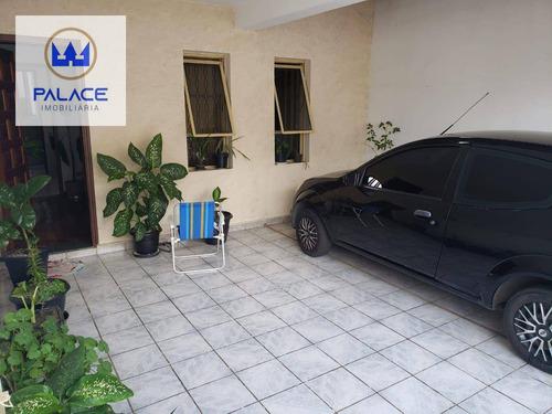 Imagem 1 de 17 de Casa Com 3 Dormitórios À Venda, 125 M² Por R$ 300.000,00 - Jardim Monumento - Piracicaba/sp - Ca0935