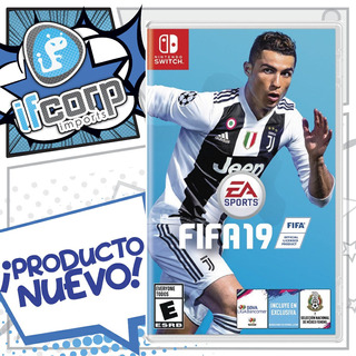 Juego Ea Sports Fifa 19 Standard Ed Nintendo Switch