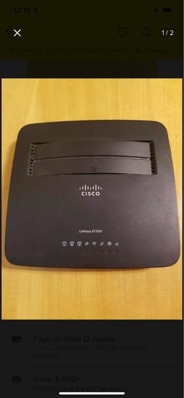 Módem Router Linksys X1000