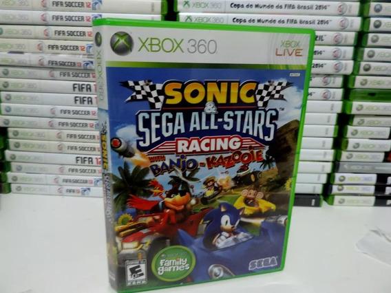 Sonic All Star Racing Xbox 360 - Usado