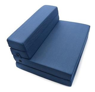 Milliard Trifold Foam Folding Colchón Y Sofá Cama Para Invit