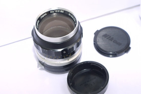 Lente Nikon Nikkor P 105mm F2.5 Manual Focus